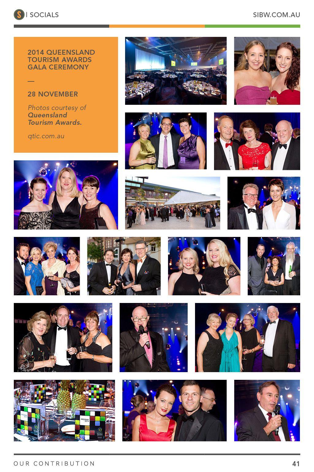 2014 Queensland Tourism Awards Gala Ceremony. SIBW Issue#3.