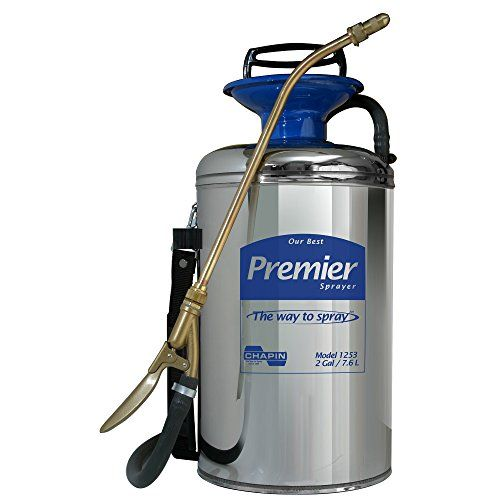 Chapin 1253 2 Gallon Premier Series Pro Stainless Steel Sprayer For Fertilizer Herbicides And Pesticides Stainless Steel Tanks Sprayers Chapin