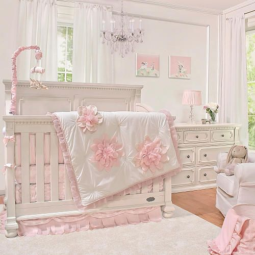 truly scrumptious little darling 3 piece bedding set heidi klum babies r us baby girl. Black Bedroom Furniture Sets. Home Design Ideas