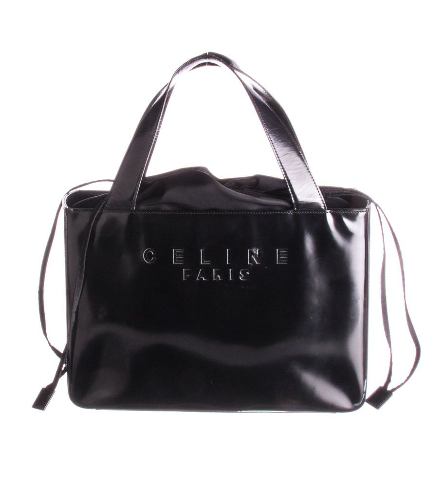 8c4141f0fa CELINE Black Patent Leather Shoulder Bag  fashion  clothing  shoes   accessories  womensbagshandbags (ebay link)