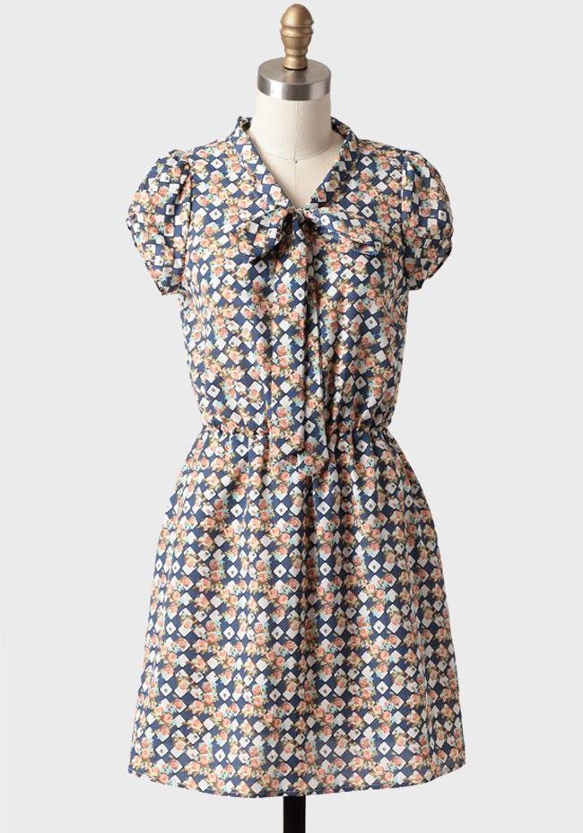 Georgina Checkered Dress | Modern Vintage Dresses