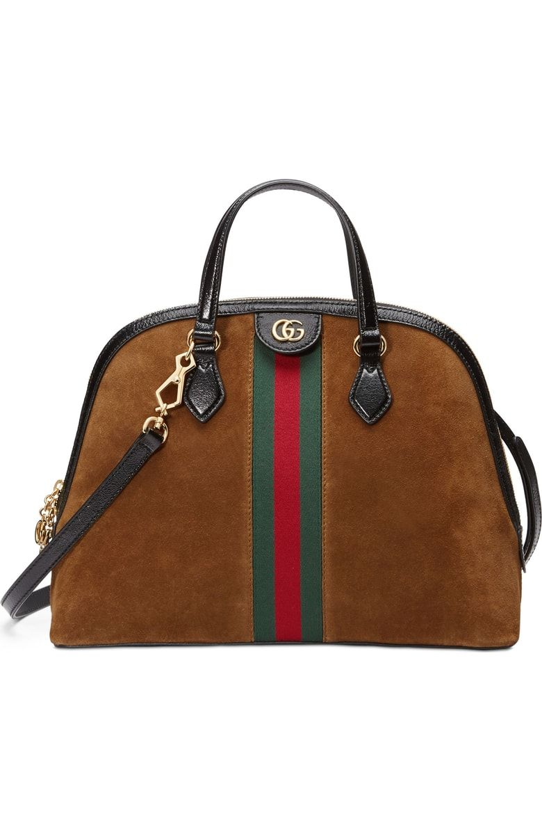 5a93ab5e411b Gucci Ophidia Suede Dome Satchel | SHOPPING LIST in 2019 | Bags ...