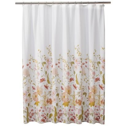 threshold wild flower shower curtain target home style flower shower curtain pink shower. Black Bedroom Furniture Sets. Home Design Ideas