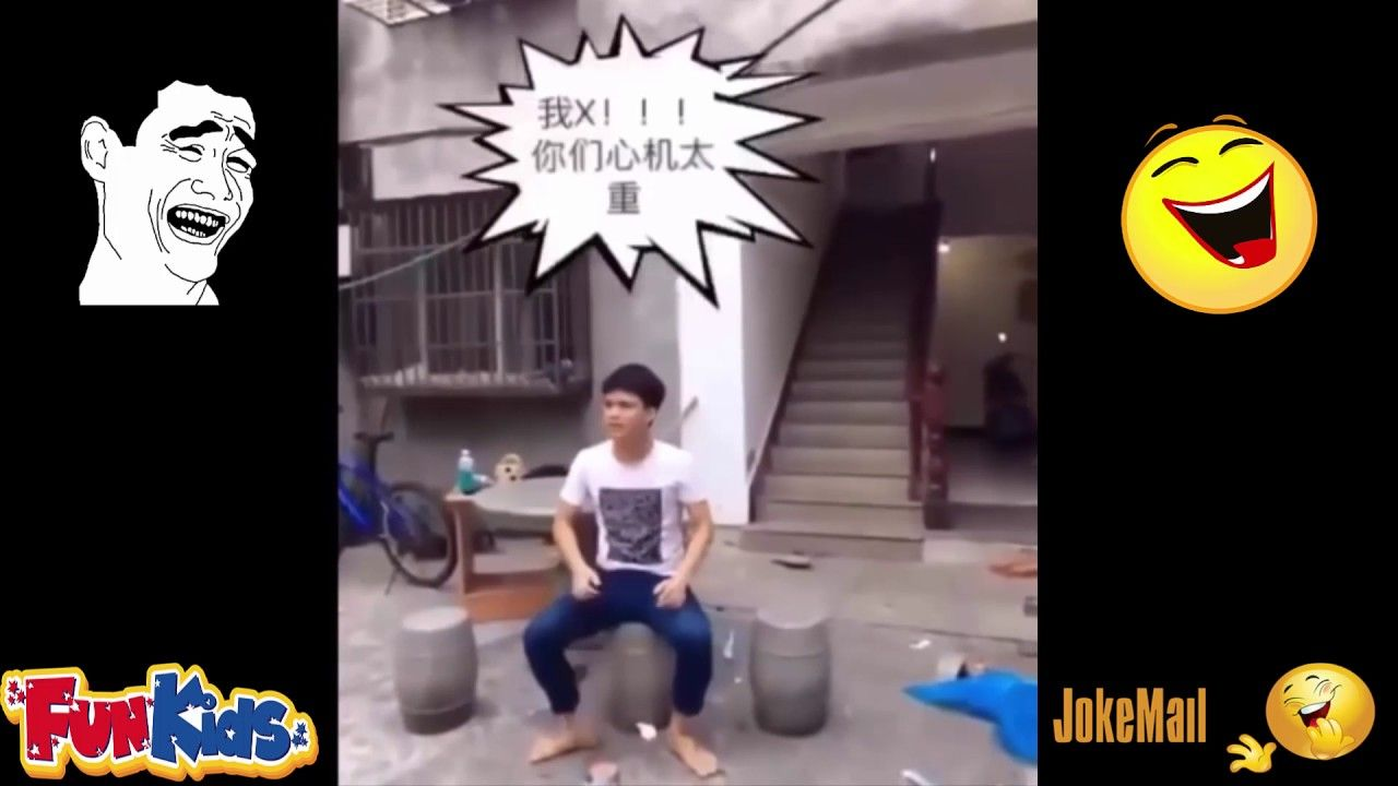 Chinese funny videos - Prank chinese 2017 - Part 1
