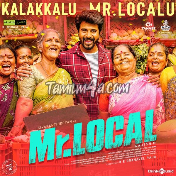 Kalakkalu Mr Localu From Mr Local Single 2019 Tamil Itunes M4a 256kbps Download Mp3 320 Local Singles Itunes Mr