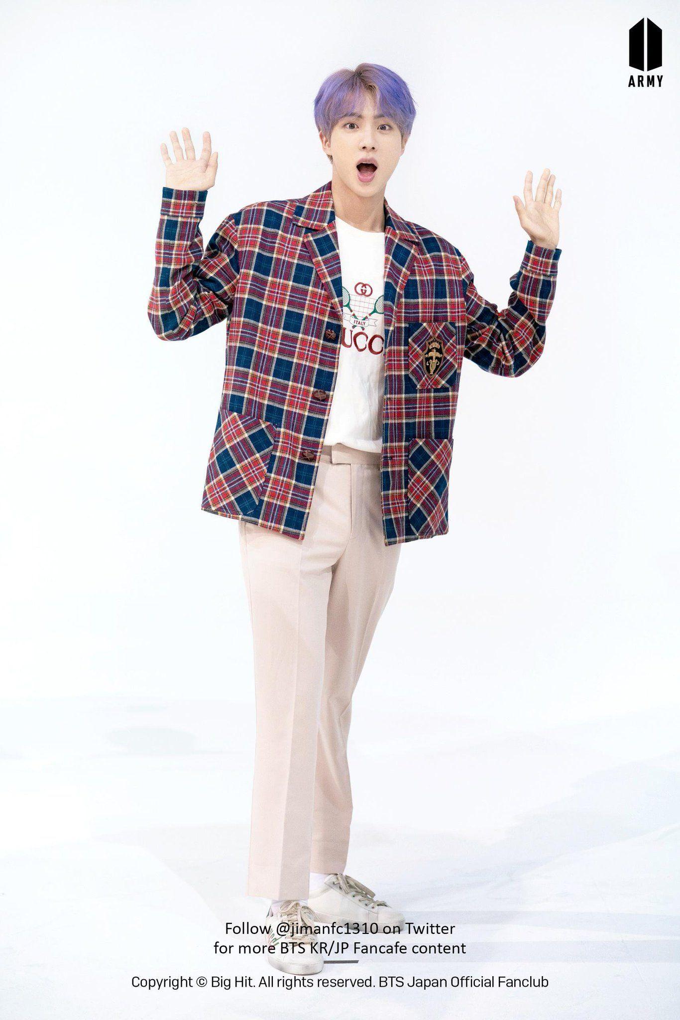 Bts Fancafe Slow On In 2020 Seokjin Worldwide Handsome Bts Jin