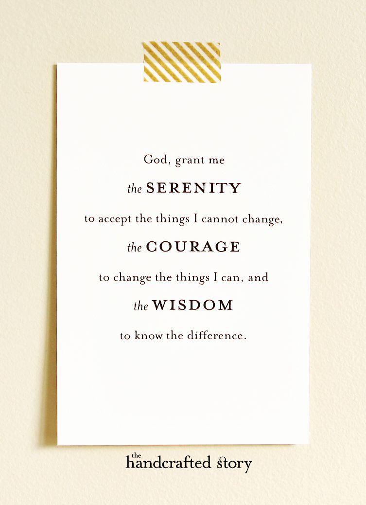 serenity prayer printable serenity prayer printable