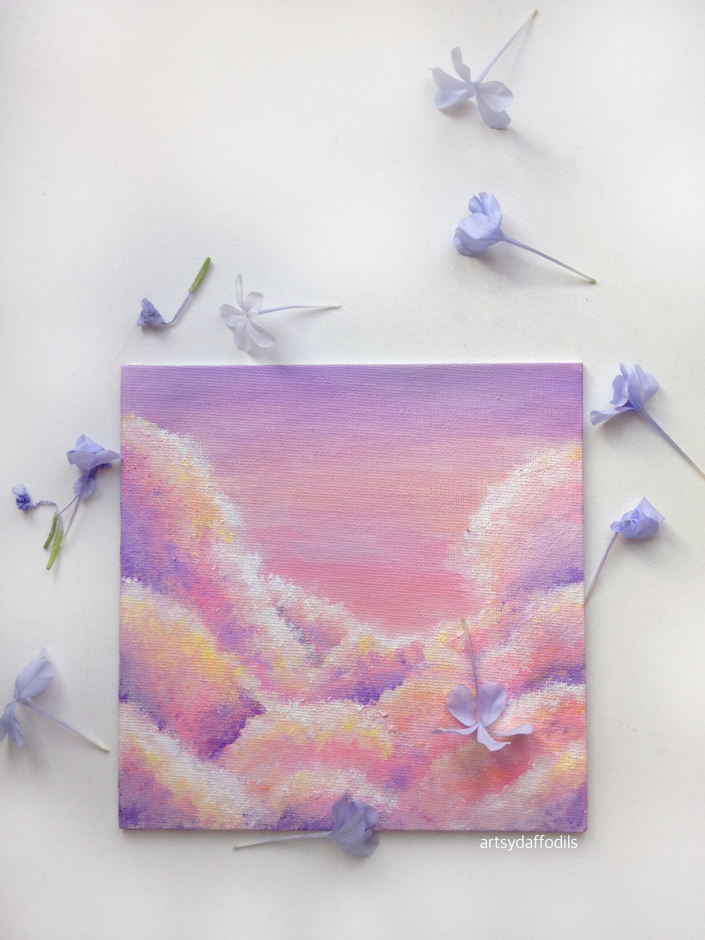 Aesthetic Things To Paint On Canvas