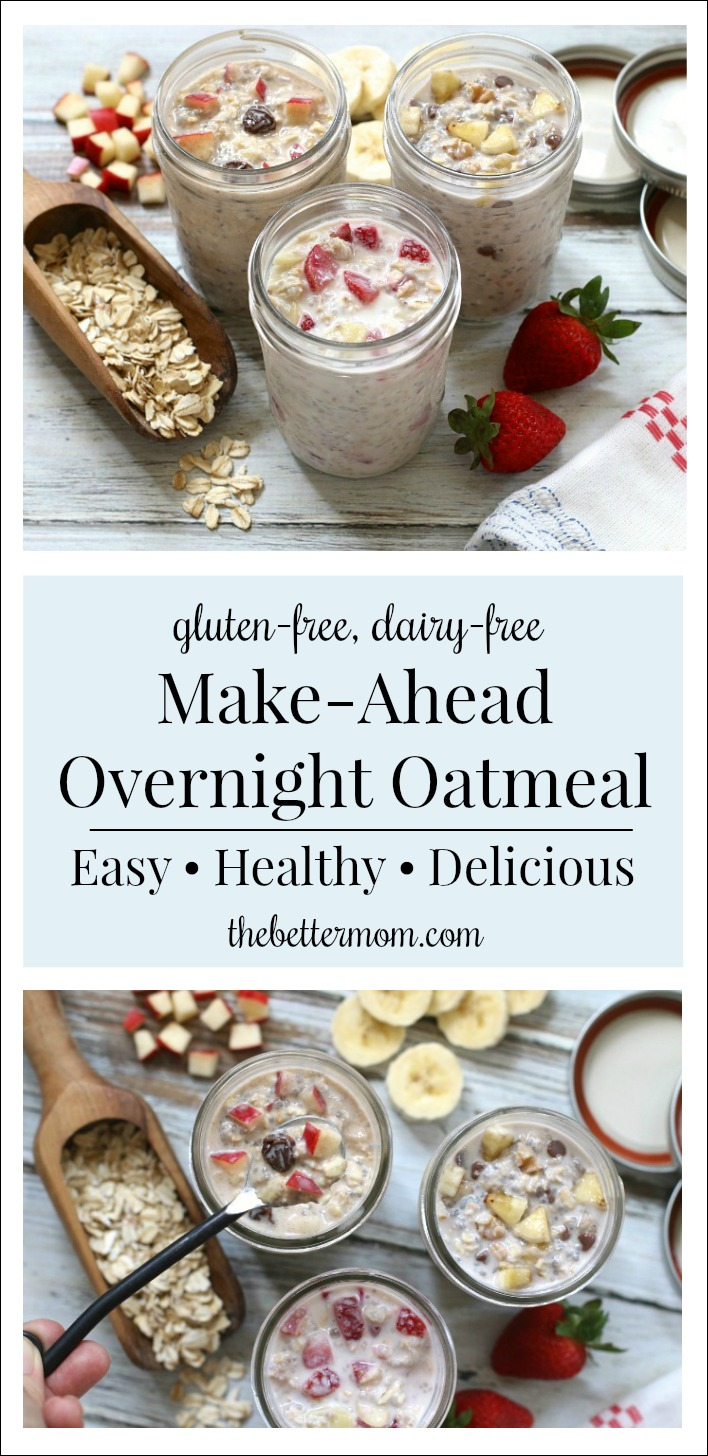 oats Apfel oats Carrot Cake Overnight Oats in a Jar An Easy MakeAhead Breakfast  The Better Mom Informations About Overnight Oats in a Jar An Easy MakeAhead Breakfast  Th...