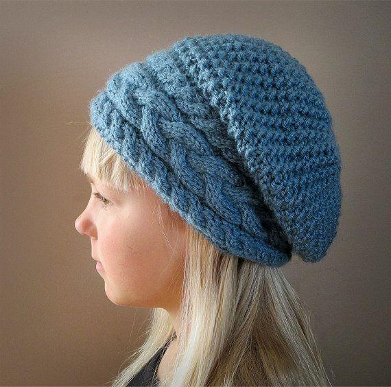Knitting Pattern Hat Cable Knit Hat Pattern Knit Hat