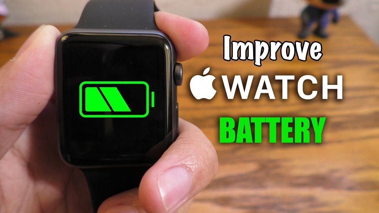Improve Apple Watch battery life (Tips & Tricks) YouTube