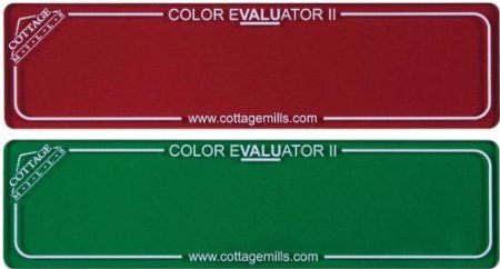 Amazon.com: Cottage Mills Color Evaulator II Red and Green Filter: Arts, Crafts & Sewing