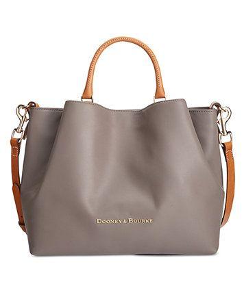 Dooney Bourke Large Barlow Tote Macys Handbags Leather Satchel