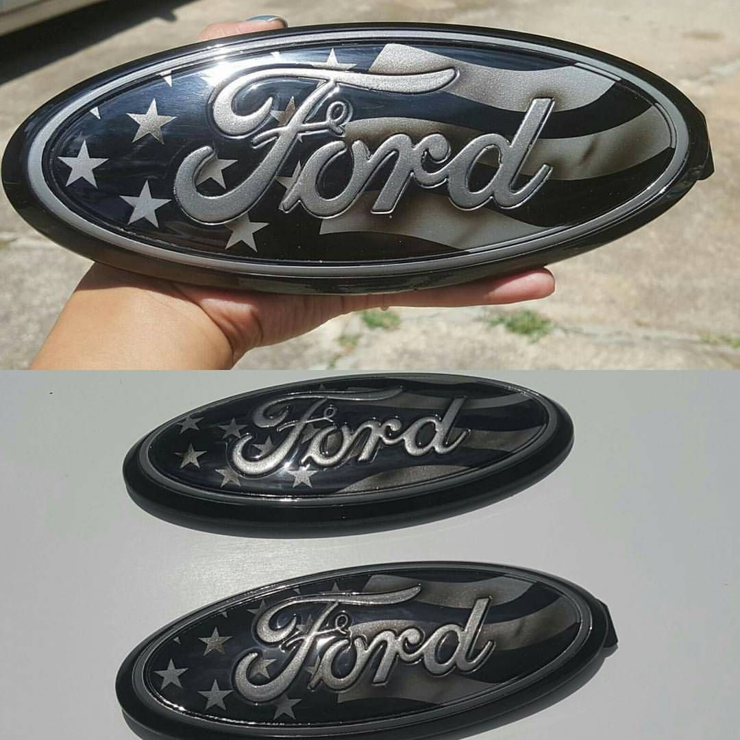 Another Set Of 9 Custom Painted Ford Oval Emblems For Jason