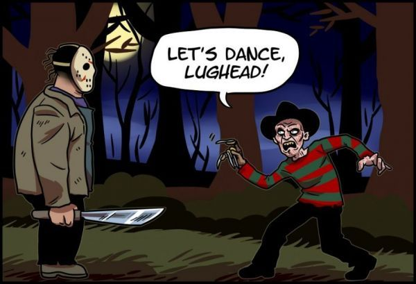 What Freddy And Jason's Final Battle Would Have Really Looked Like - Neatorama