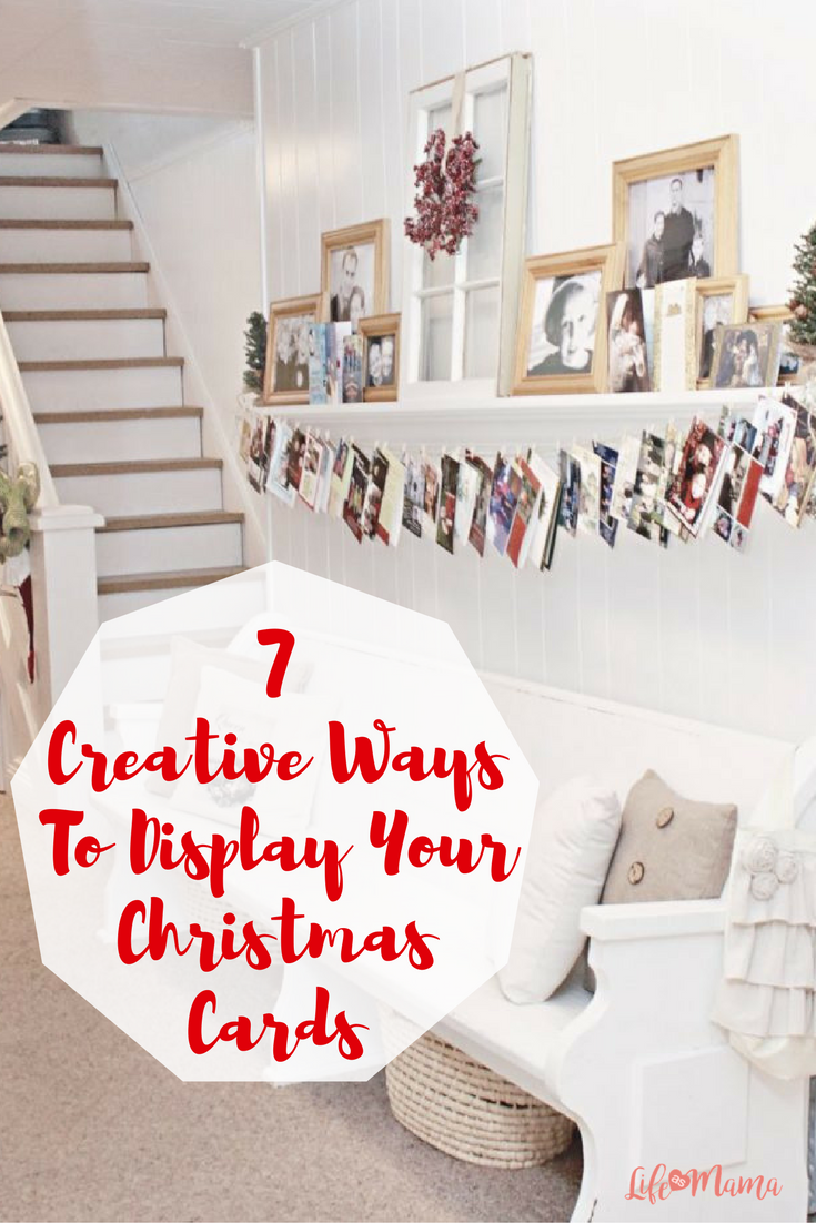7 Creative Ways To Display Your Christmas Cards | Christmas cards ...