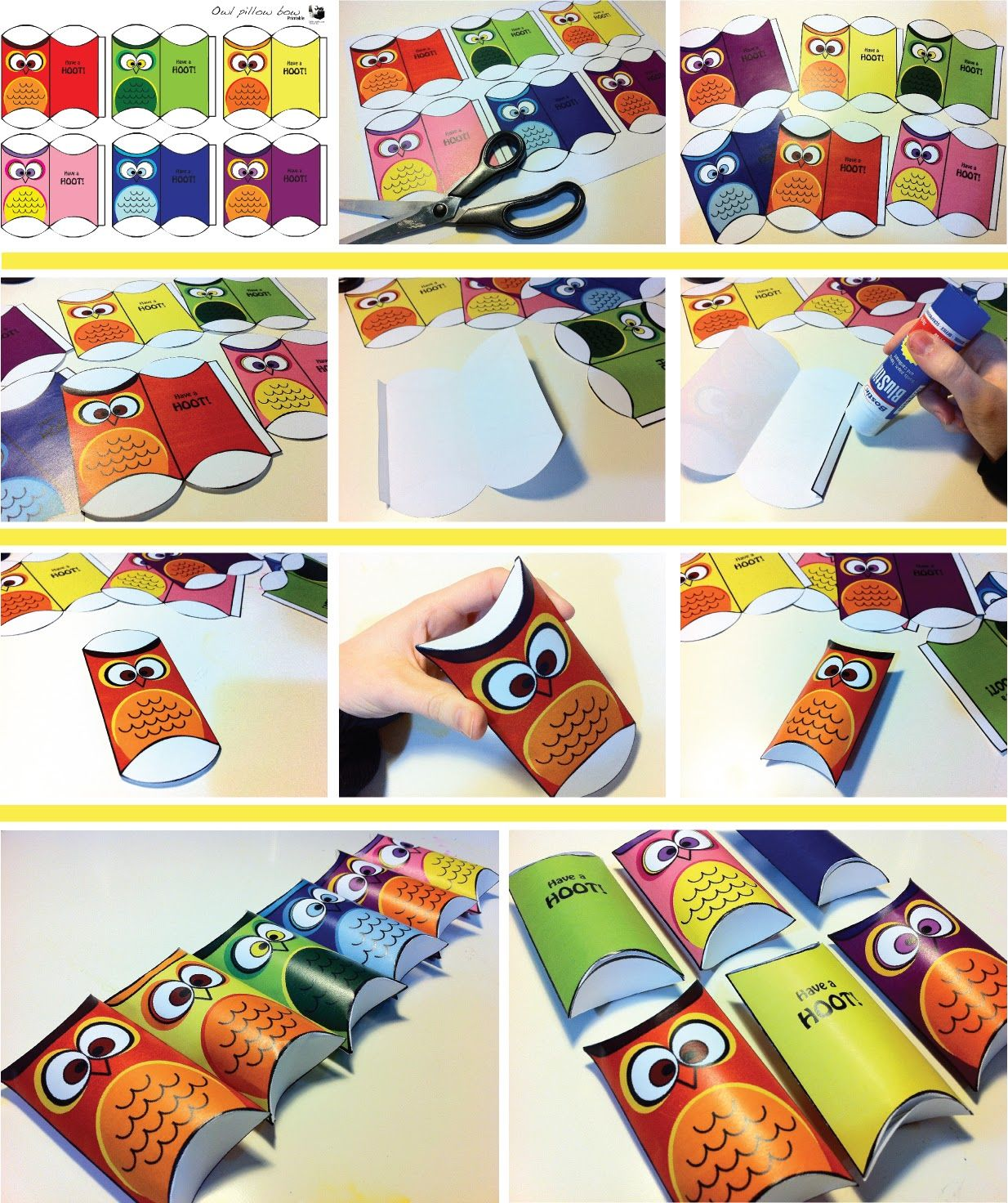 Free printable owl pillow boxes free printables pinterest free printable owl pillow boxes pronofoot35fo Image collections