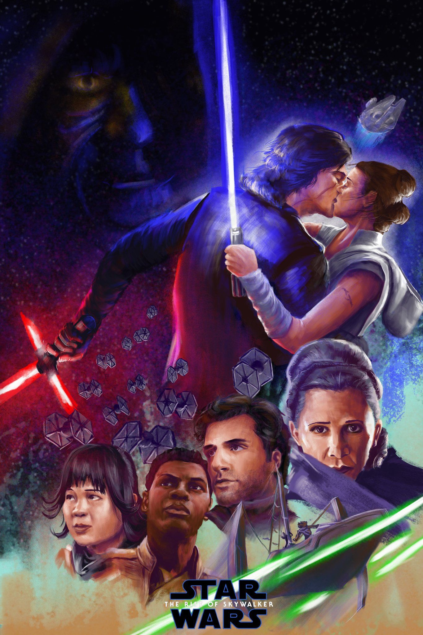 David Brady On Twitter Rey Star Wars Star Wars Poster Star Wars Pictures