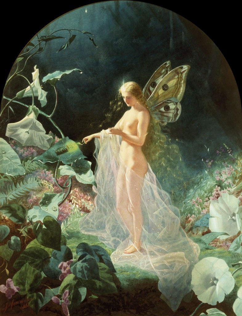 celtic forest faerie titania by john simmons fantasy morning glories