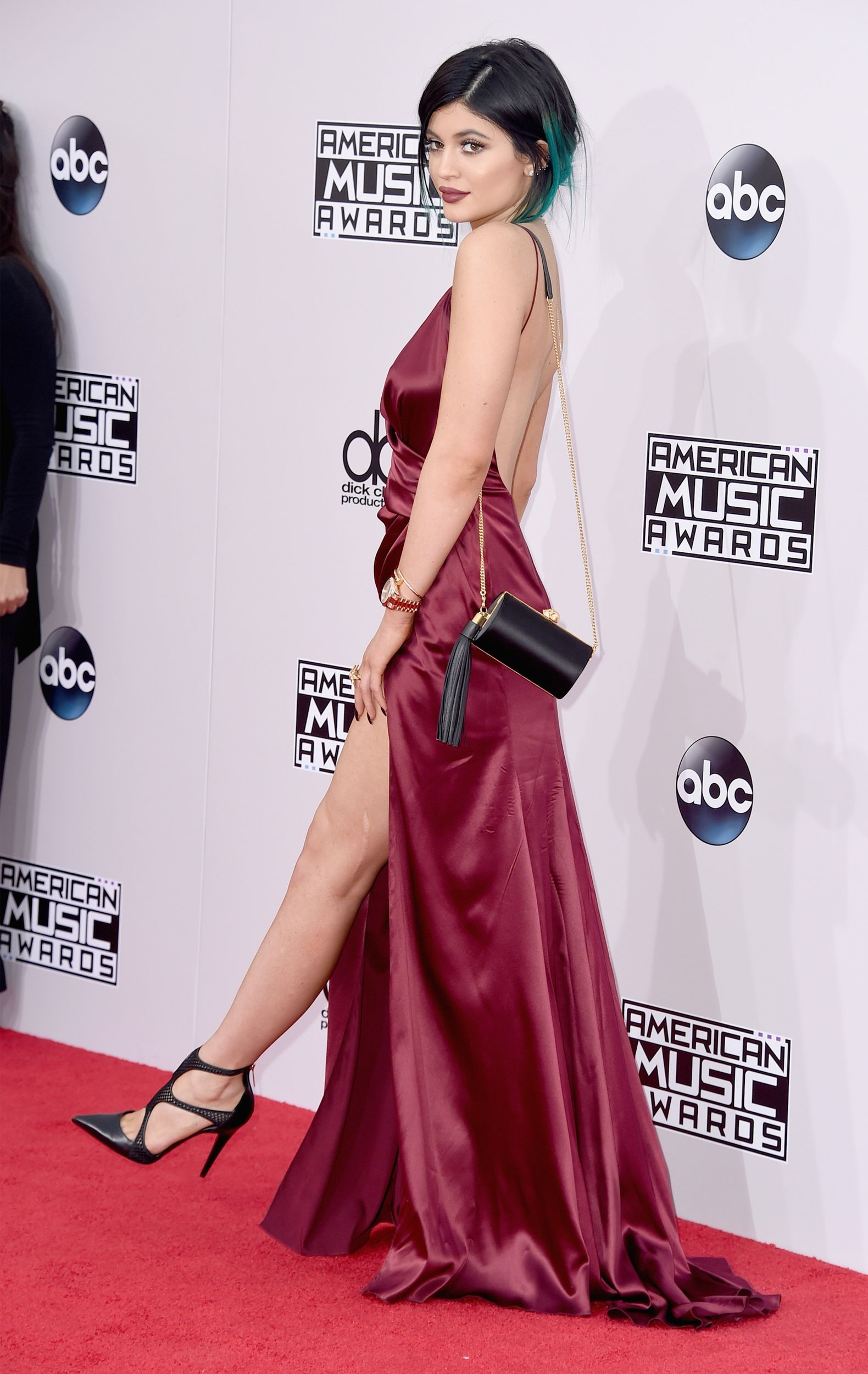 All the best and worst looks from the american music awards satin