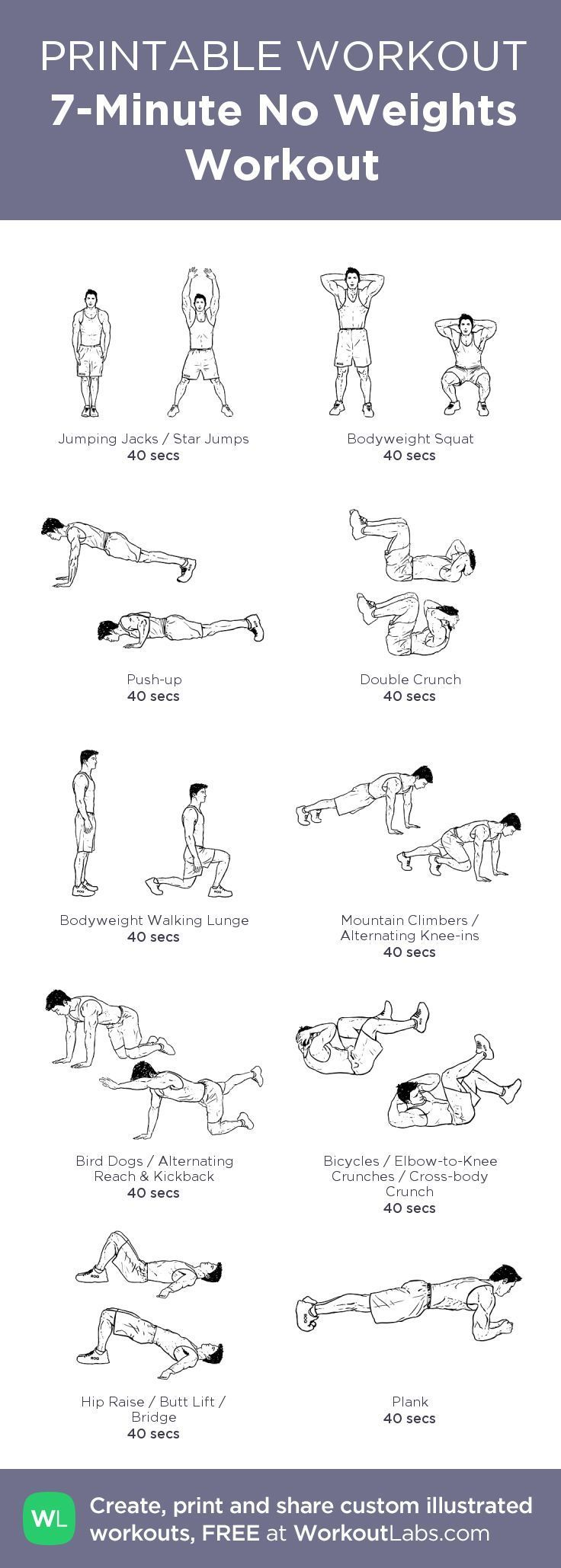 Pin En Muscle Building Exercises