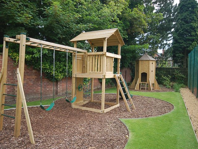Victorian Semi Back Garden Ideas For Kids
