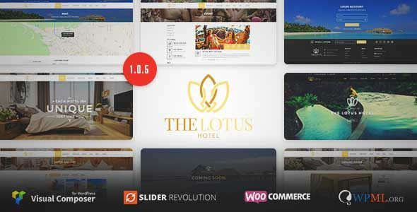 Download And Review Of Lotus Hotel Booking Wordpress Theme One Of The Best Themeforest Retail Themes