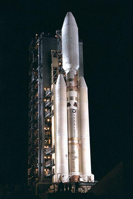 Titan IV rocket by Lockheed Martin.