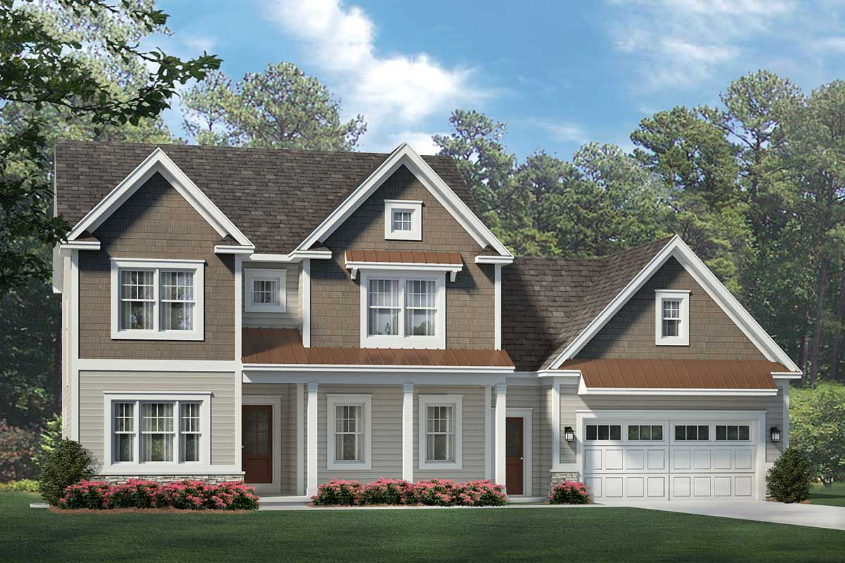 Plan 790039glv Stately 4 Bedroom Colonial House Plan Ranch Style House Plans Colonial House Plans Craftsman Style House Plans