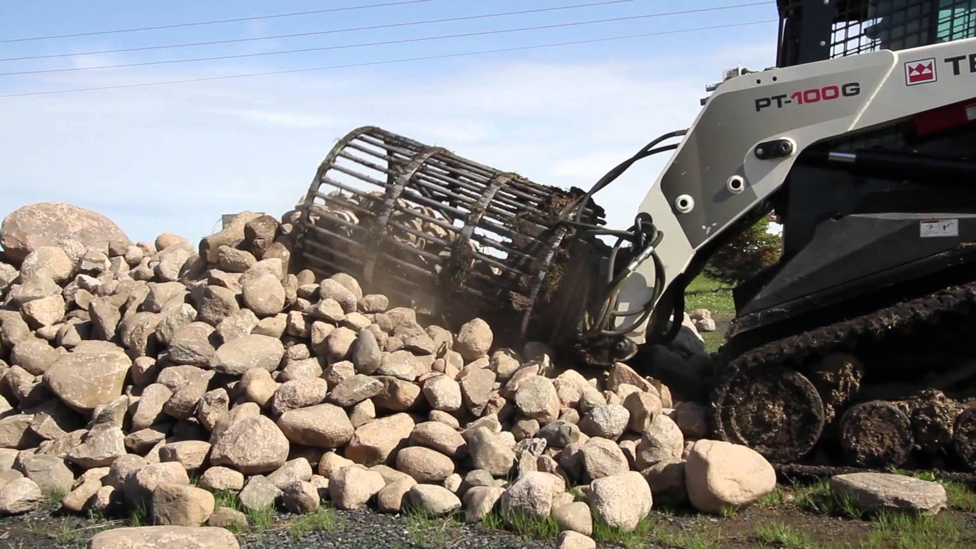 Rock Picking Machines : Robo rock picker pick rocks fast equipment pinterest