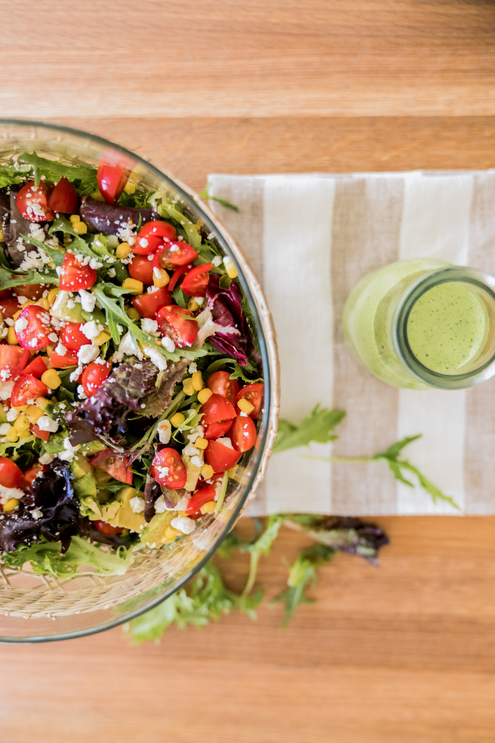 Summer Salad Dressing Summer Salads Salad Toppings Healthy Side Dishes [ 1500 x 1000 Pixel ]