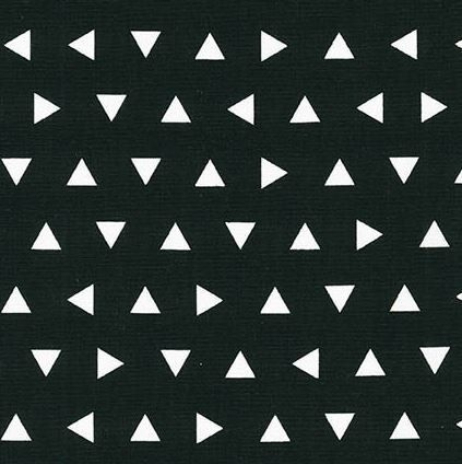 Changing Pad Cover Black Triangle Remix- Black Changing Pad- Triangle Changing Pad- Changing Pad Cover- Black Baby Bedding- Change Pad