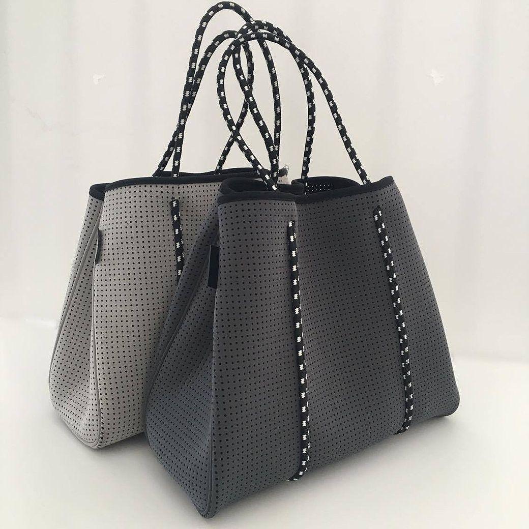 744dd207ac9 Neoprene Mommy Diaper Bag (Charcoal Grey)   Bag   Bags, Handbags ...