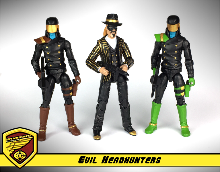 Headhunters G I Joe Cobra Customs Gi Joe Custom Action Figures American Heroes
