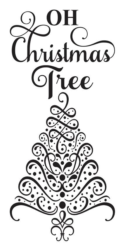 How To Draw A Christmas Tree Stencil Christmas Tree Drawing Christmas Tree Stencil Christmas Tree Coloring Page