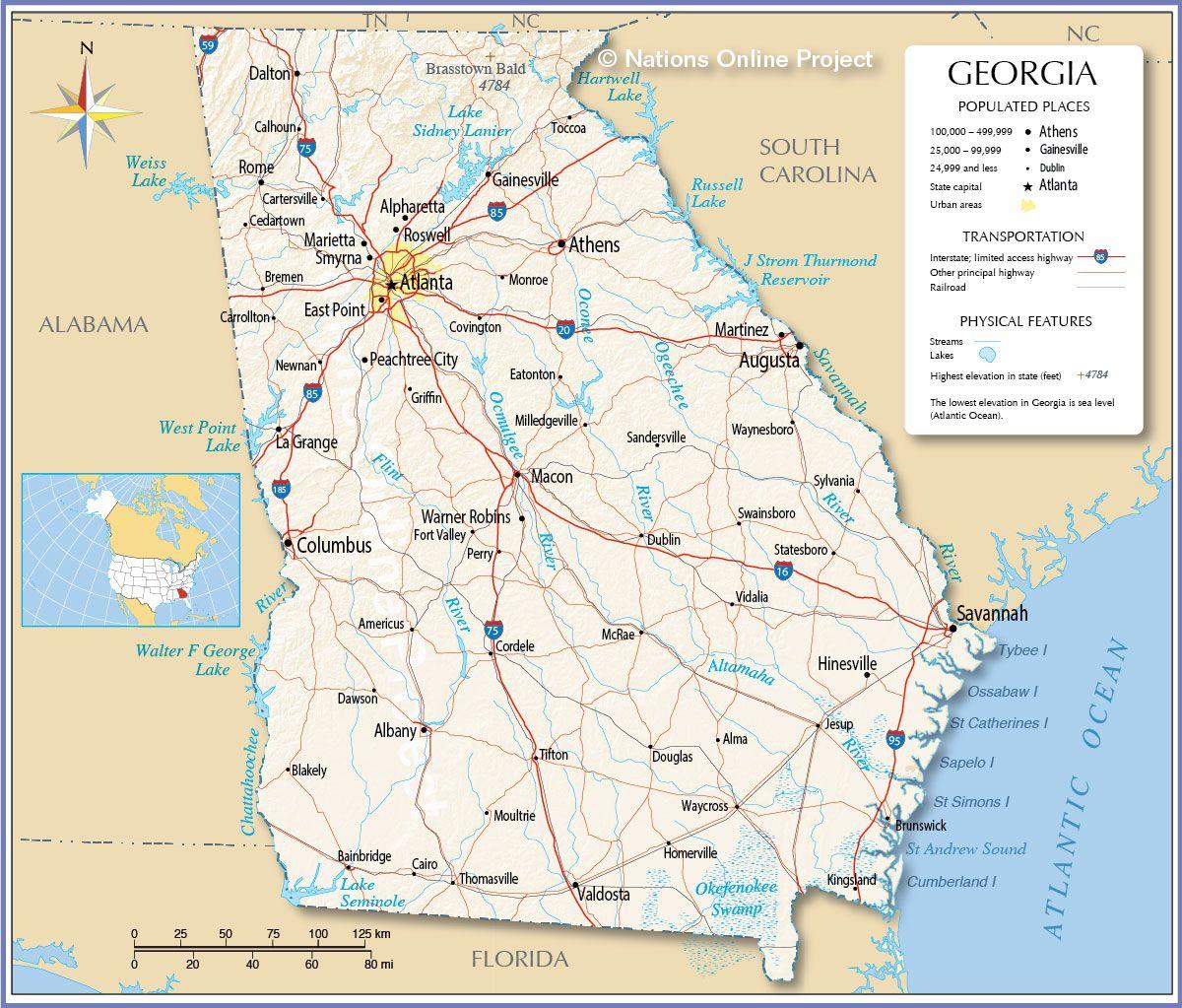 map of georgia | Reference Map Of Georgia Ga | Map of ... Map Of Georgia on map of italy, blue ridge georgia, dallas georgia, map of africa, map of texas, map of michigan, marietta georgia, map of the world, roswell georgia, albany georgia, jekyll island georgia, kennesaw georgia, map of south america, map of europe, map of north carolina, map of canada, gainesville georgia, waycross georgia, map of china, map of germany, statesboro georgia, map south carolina, duluth georgia, newnan georgia, map of usa, map alabama, canton georgia, decatur georgia, plains georgia, map of virginia, savanna georgia, tifton georgia, map of mexico, map of florida, dacula georgia, map of the united states, map of ohio,