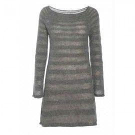 Stribet kjole 314 opskrift fra Canard