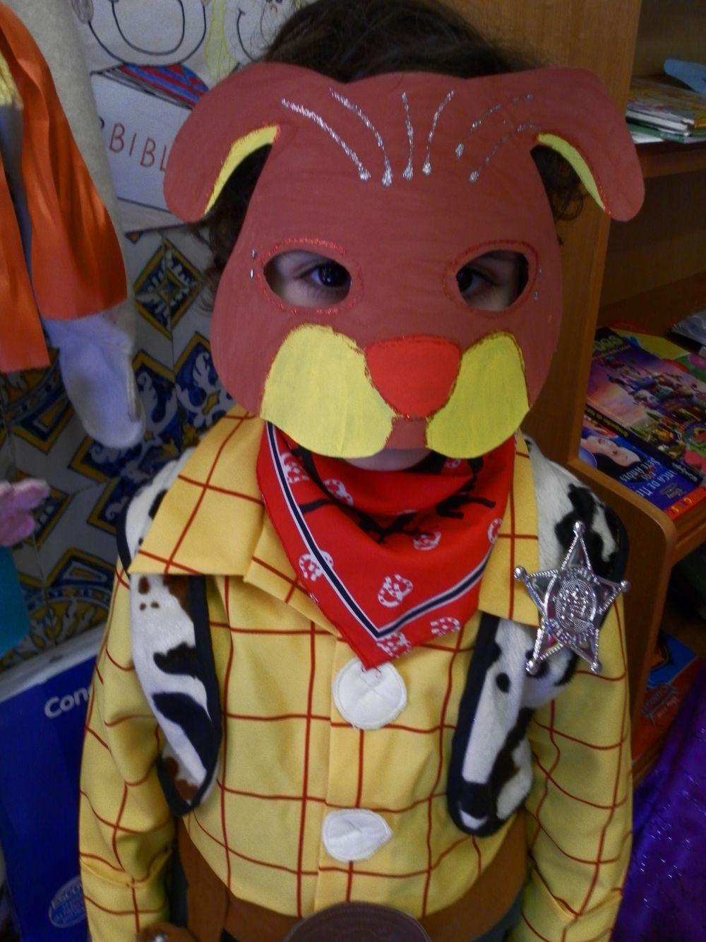 Máscaras de Carnaval, do Pré-Escolar.