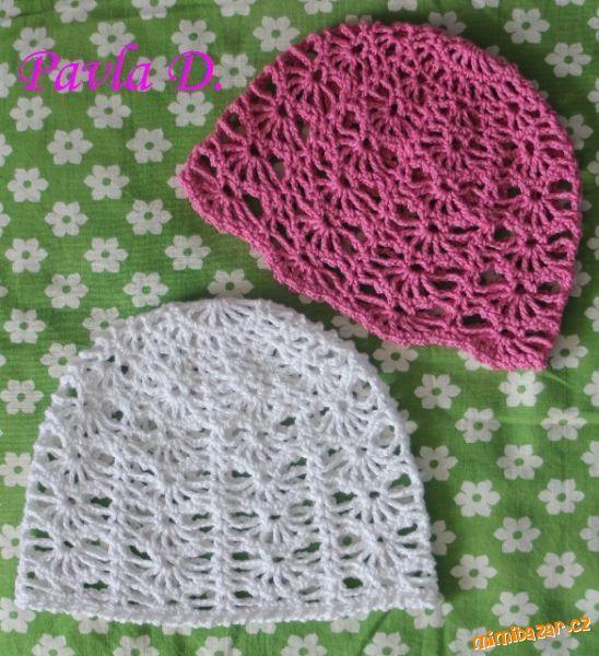 02bf77762 postupy na háčkované čiapky s vejárikmi - Hľadať Googlom   Crochet ...