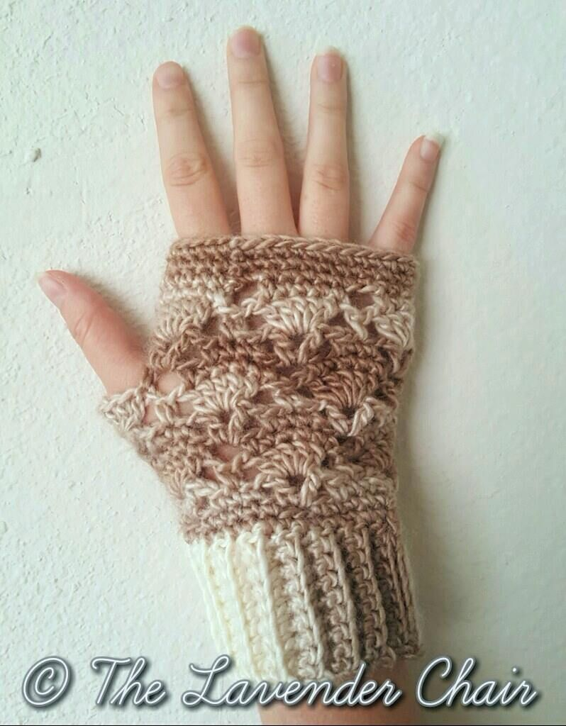 Vintage Fingerless Gloves - Free Crochet Pattern - The Lavender ...
