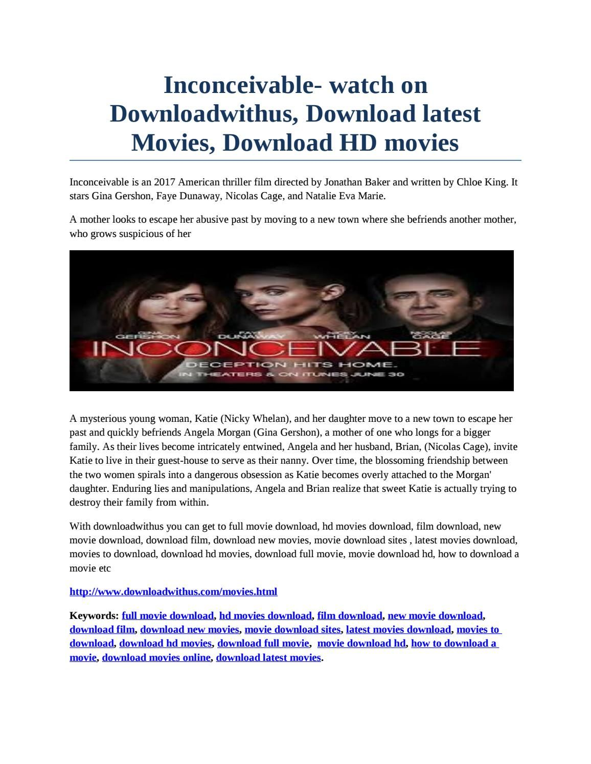 inconceivable- watch on downloadwithus, download latest movies