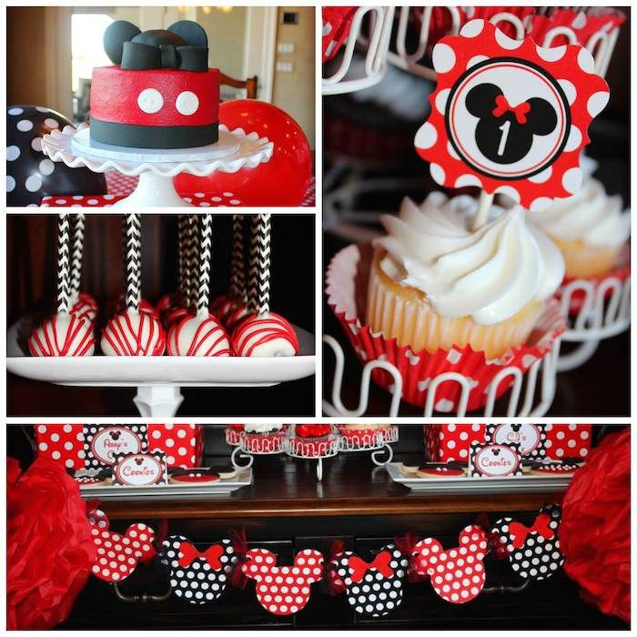 MICKEY MOUSE PARTY IDEAS INSPIRATIONS – Mickey and Minnie Party Invitations
