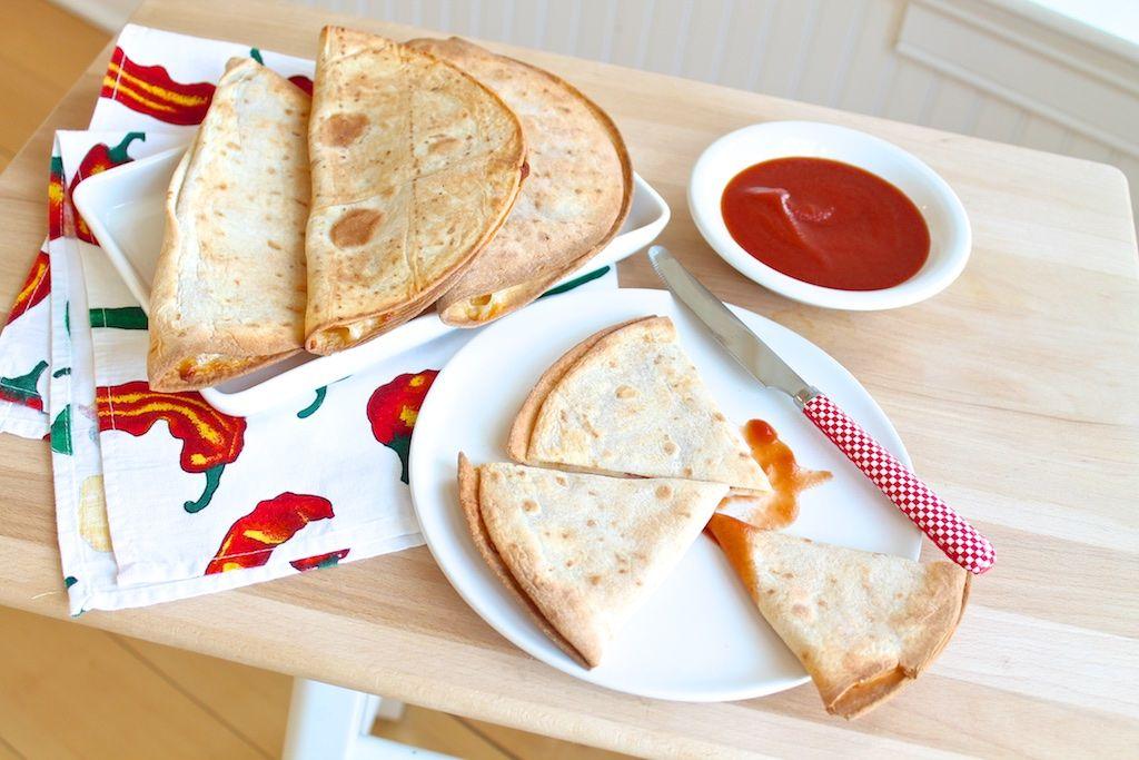The Fountain Avenue Kitchen – 3-Ingredient Pizzadillas