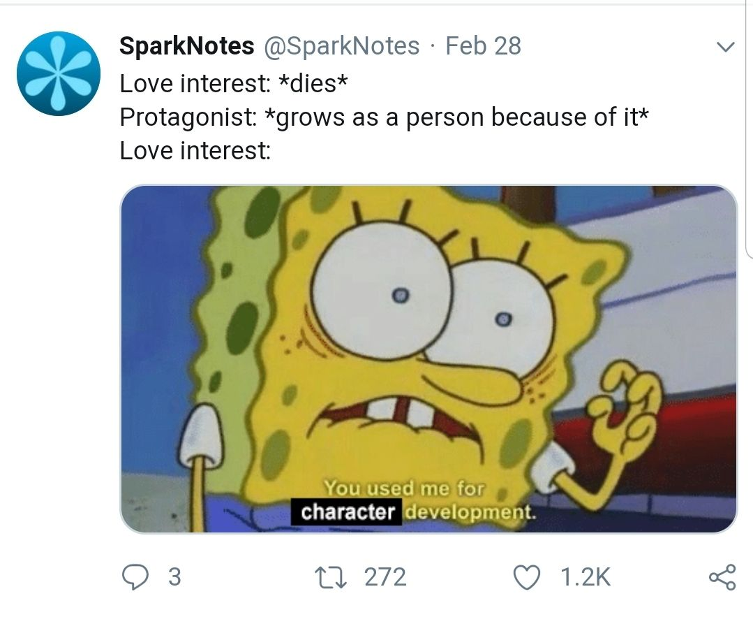 Sparknotes twitter getting in on that spongebob meme action pic picoftheday
