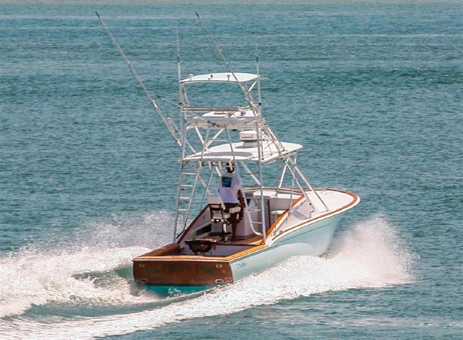 31 39 diablo custom fishing boat for sale in keywest for Custom fishing boats