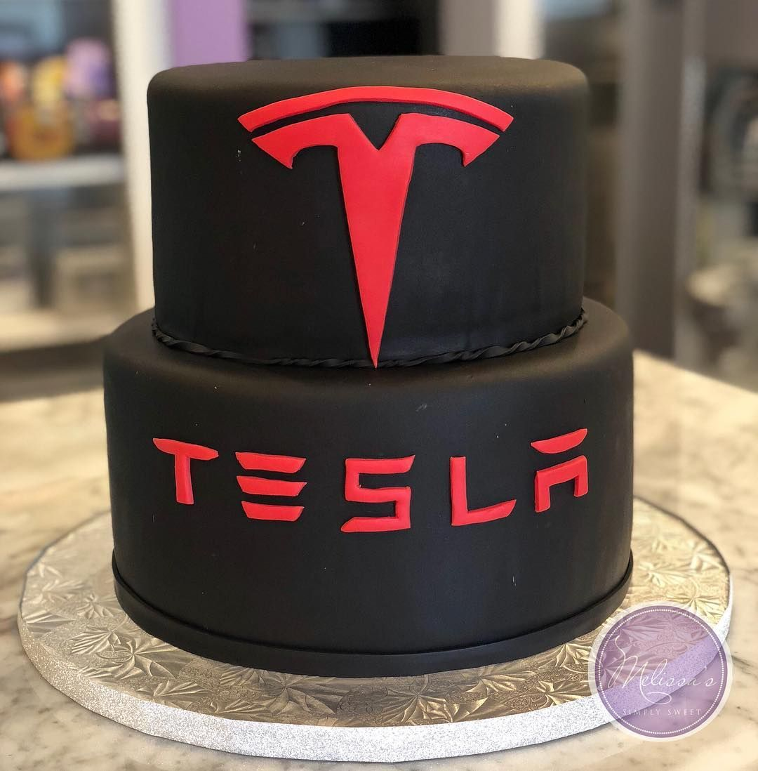 happy 1st birthday to tesla richmond dealership teslacake tesla teslarva teslarichmond birthd dad birthday cakes cars birthday cake small birthday cakes birthday cakes cars birthday cake