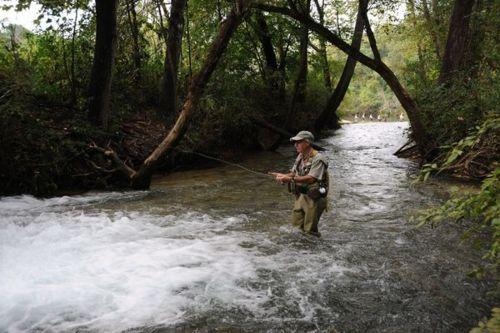 Pescando truchas