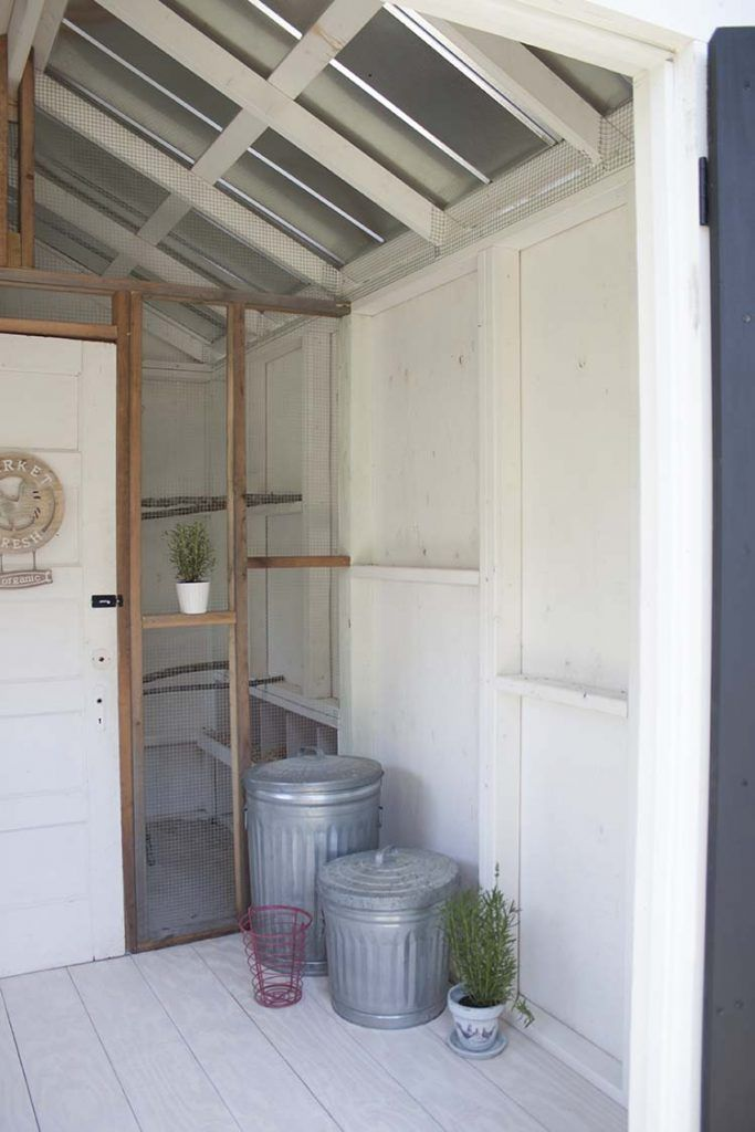 Fancy Farmhouse DIY Chicken Coop Reveal Southern Revivals