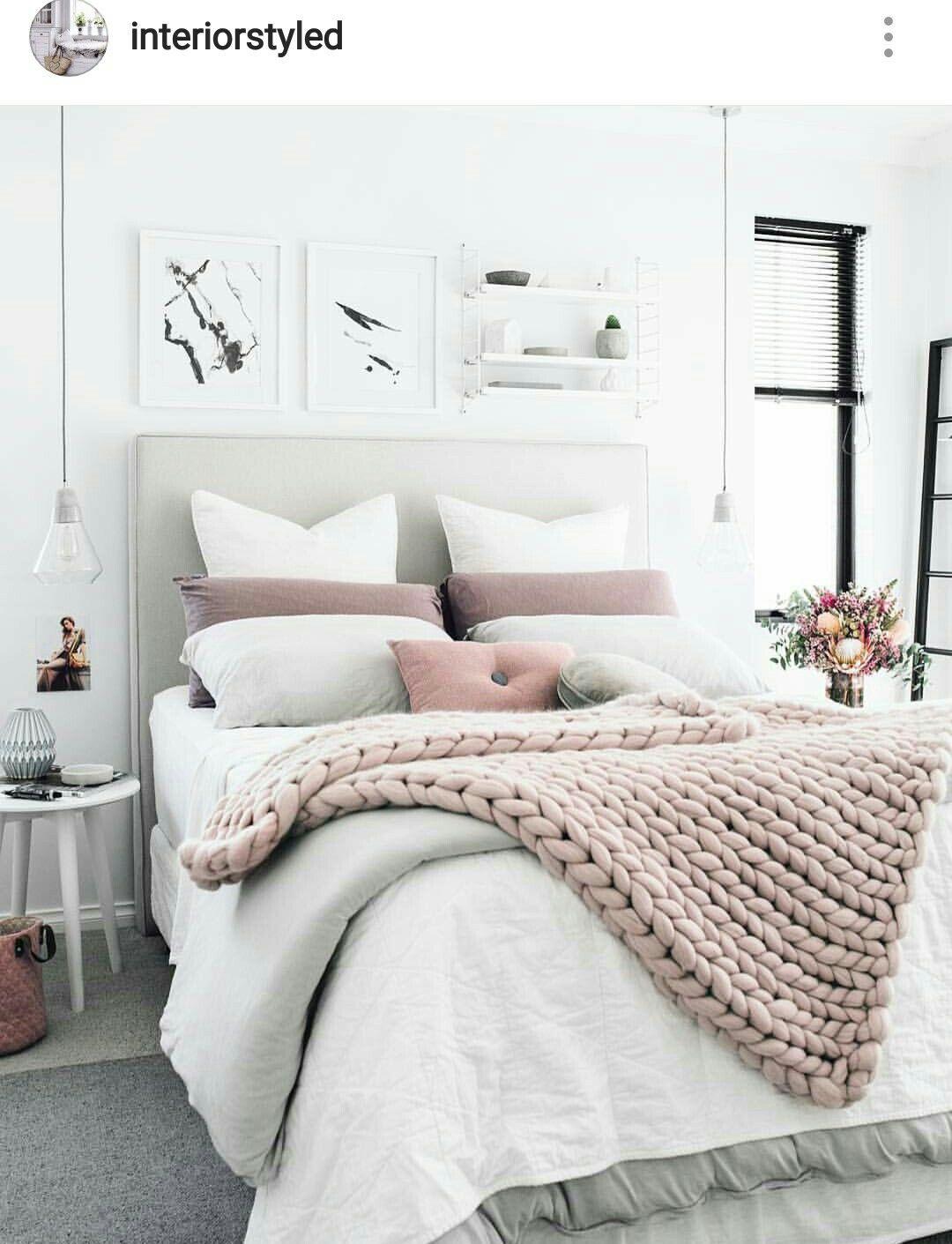 Simply Adi Blush Grey Bedroom Ideas