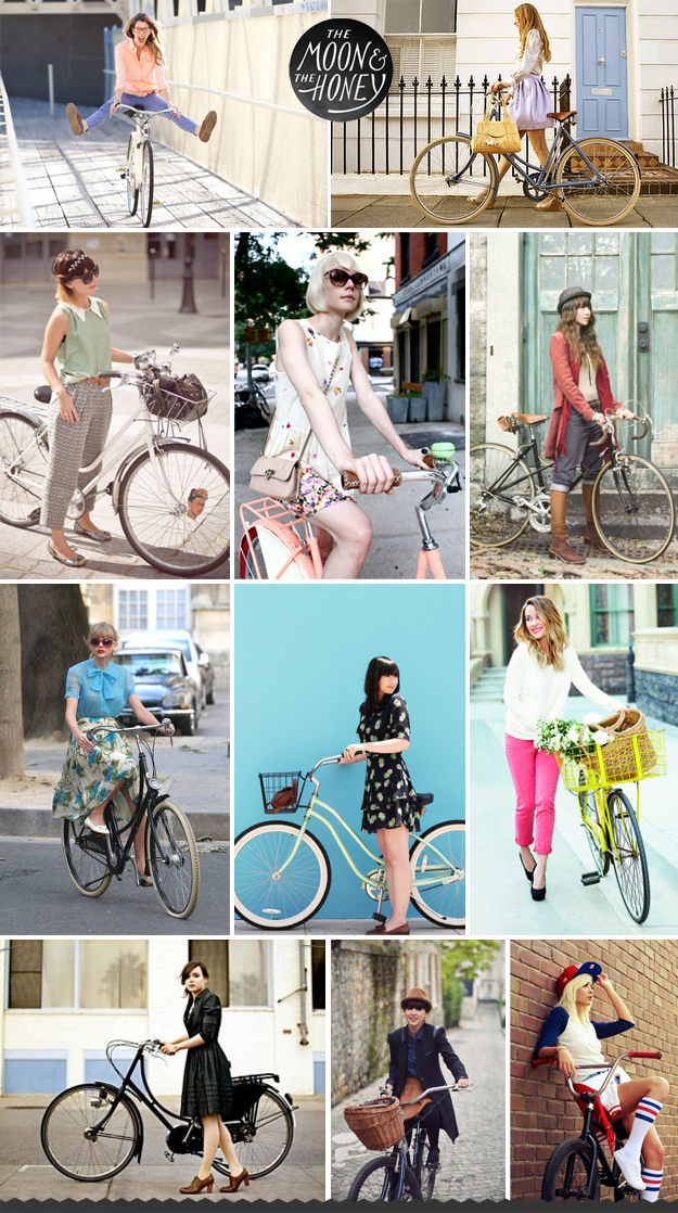 Bike Fashion The Moon The Honey With Images Bicycle Chic